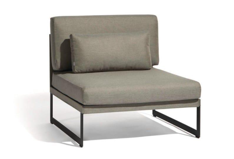 Batyline® garden armchair SQUAT | Garden armchair - MANUTTI