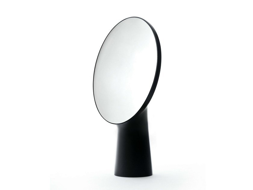 Framed round mirror CYCLOPE - Moustache