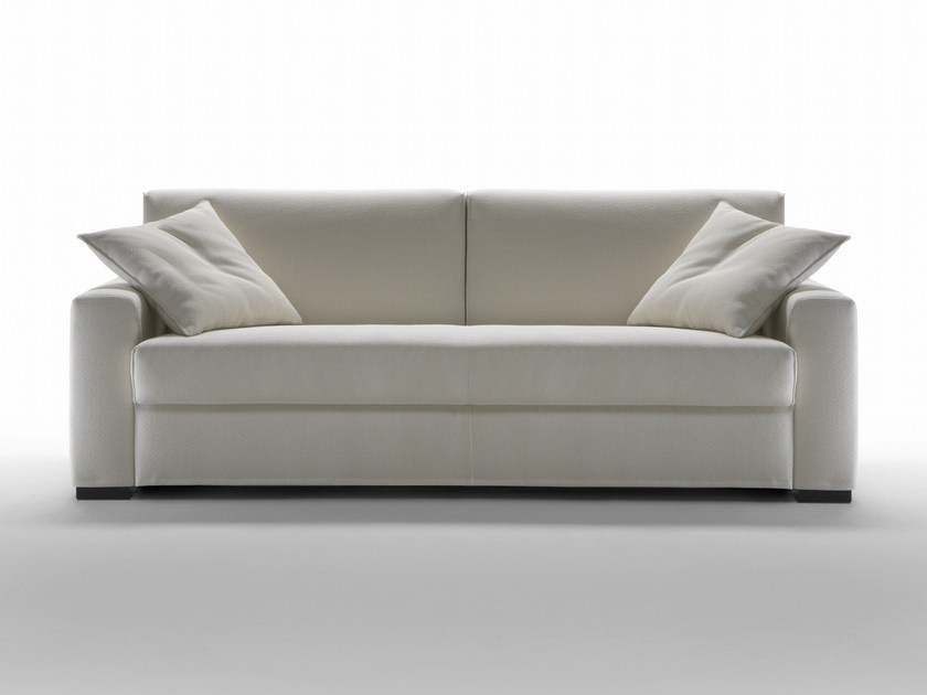 3 seater fabric sofa bed with removable cover