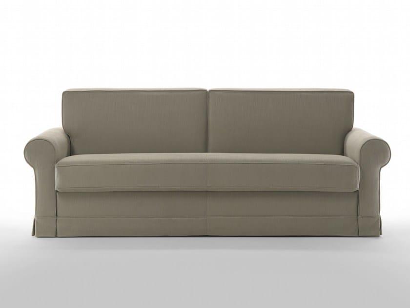 Divano letto sfoderabile in tessuto eclis by giulio marelli italia design studio crgm - Divano letto studio ...