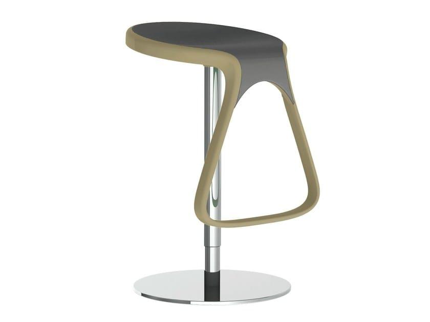 Height-adjustable swivel stool OCTO - GABER