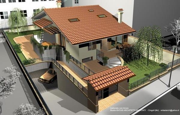 Progettazione di ambienti 3d arcon small business systems for Software di progettazione mobili 3d gratuito