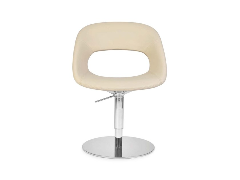 Swivel low lounge chair