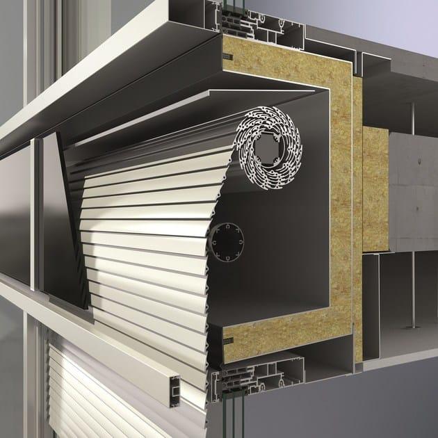 Frangisole in alluminio estruso sch co cab sch co - Frangisole esterni per finestre ...