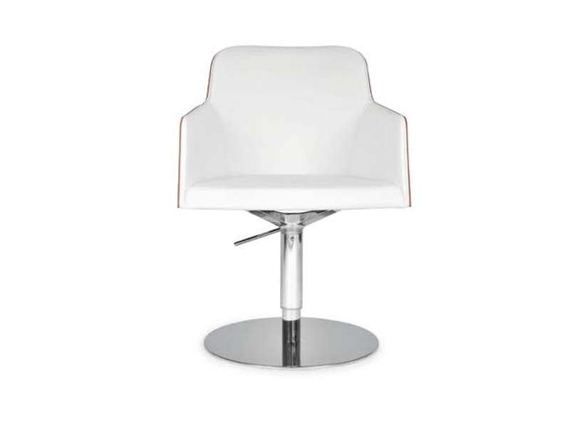 Swivel chair with armrests
