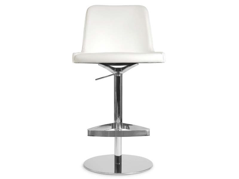 Height-adjustable stool MARLÈNE | Height-adjustable stool by Riccardo Rivoli