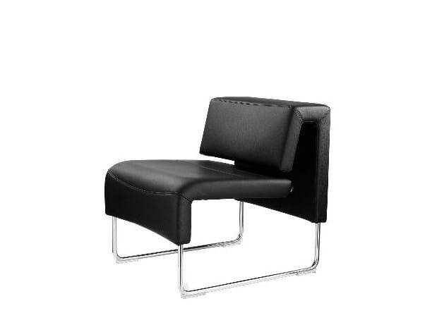 Upholstered modular sofa - Divano imbottito modulare