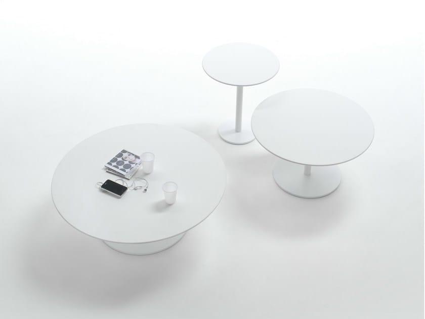 Round MDF coffee table BREAKFAST | MDF coffee table - Giulio Marelli Italia
