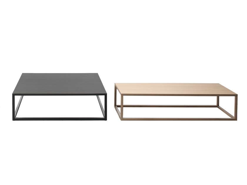 Low oak coffee table FOREST | Low coffee table - Giulio Marelli Italia