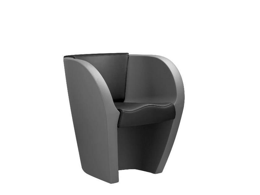 Polyethylene armchair