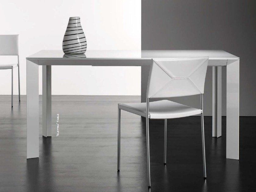 Extending rectangular table ELETTRA - Riccardo Rivoli Design