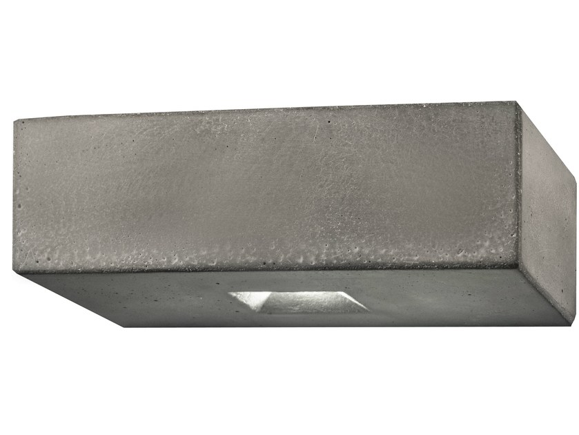 LED cement wall light BRIQUE O by LUCIFERO'S