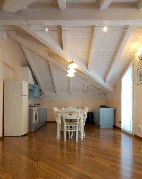 Struttura per copertura in legno Sistema del doppio tetto By LignoAlp