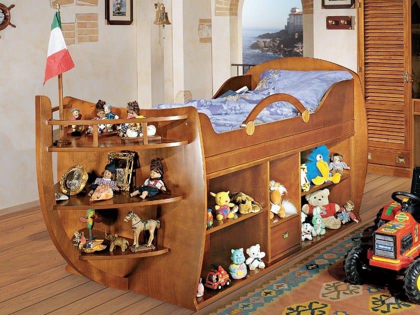 Cameretta componibile in legno per bambini cameretta del - Camerette di legno ...