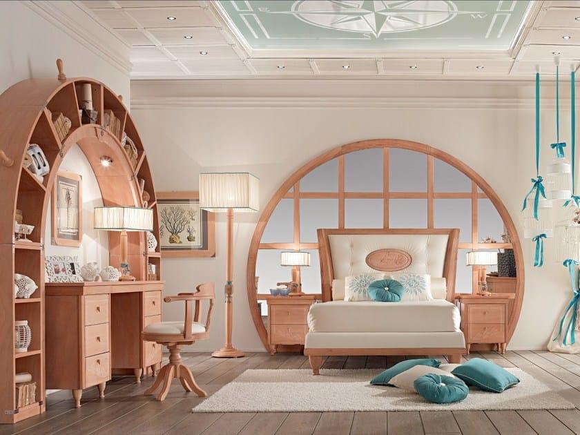 Fitted wooden bedroom set GOLDLINE ONDA | Bedroom set by Caroti