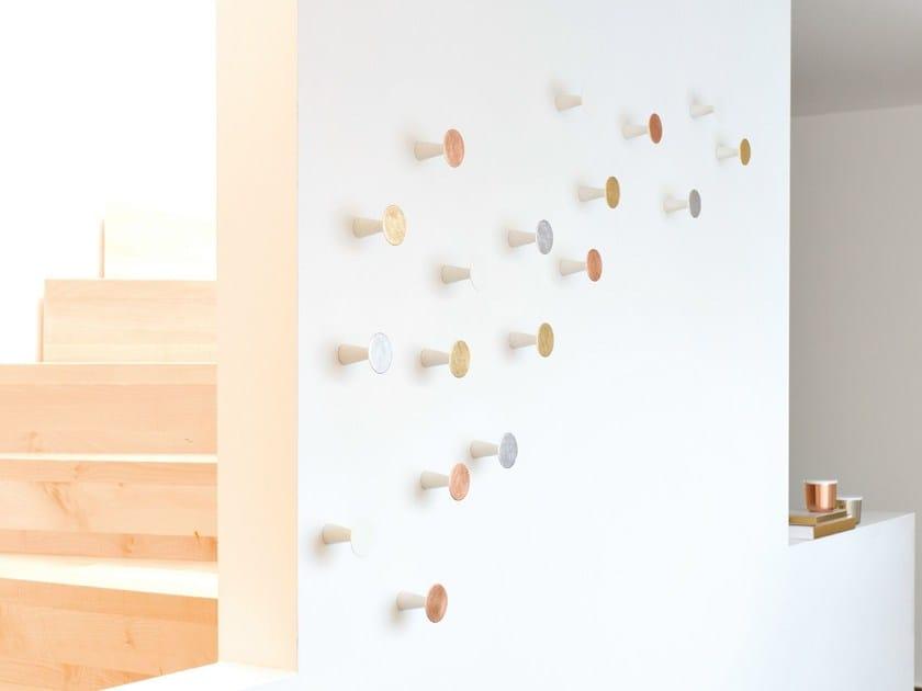 Wall-mounted solid wood coat rack 0390 | Coat rack by Schönbuch