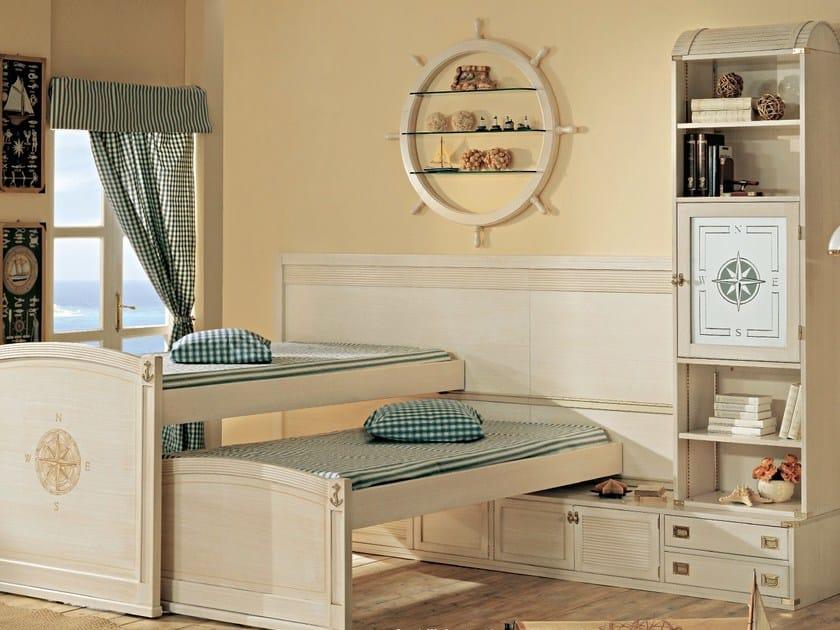 Wooden teenage bedroom 803 | Bunk bed - Caroti