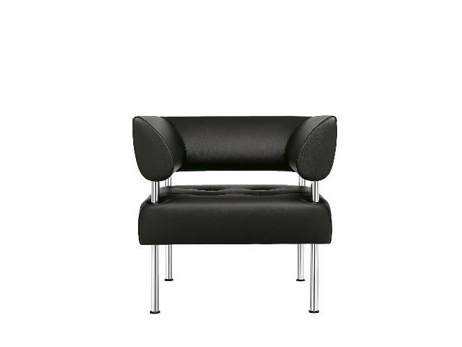Upholstered steel armchair BUSINESS CLASS | Armchair by SitLand