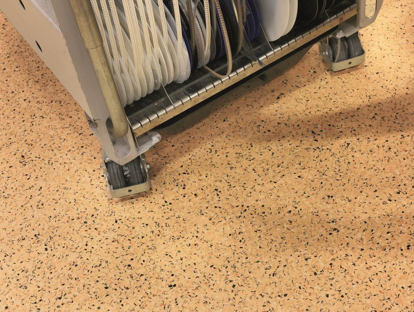 Static dissipative PVC flooring iQ TORO SC - TARKETT