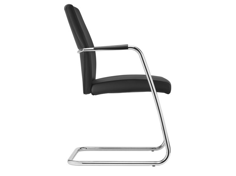 Cantilever polyurethane chair PASSE-PARTOUT | Cantilever chair by SitLand
