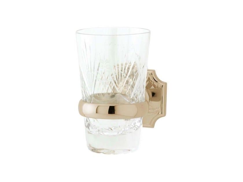Crystal toothbrush holder REGENT | crystal tumbler holder - GENTRY HOME