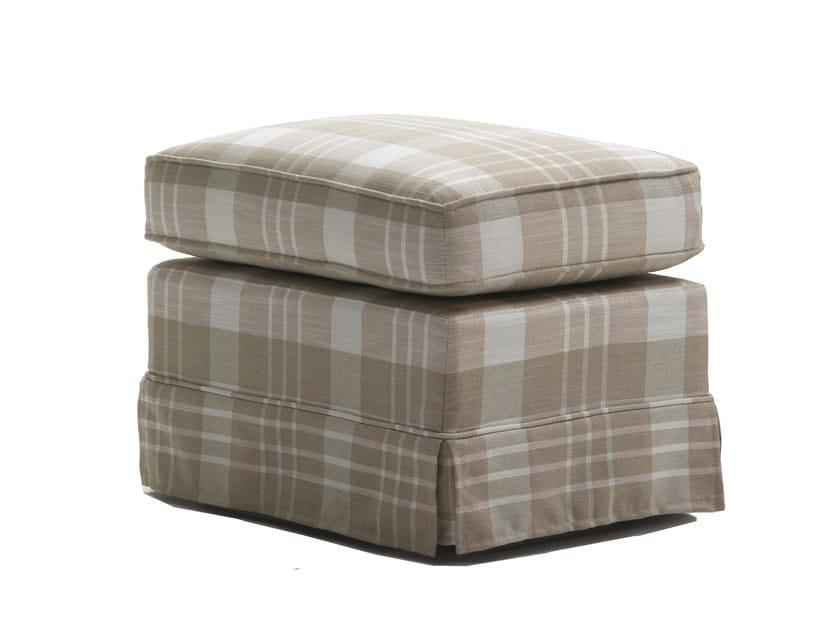 Upholstered fabric pouf OTTOCENTO | Pouf - Giulio Marelli Italia