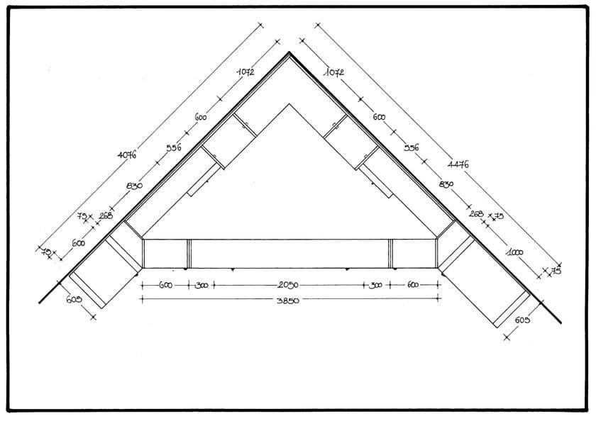 Cabina armadio angolare in legno 700 cabina armadio for Bastone per velux