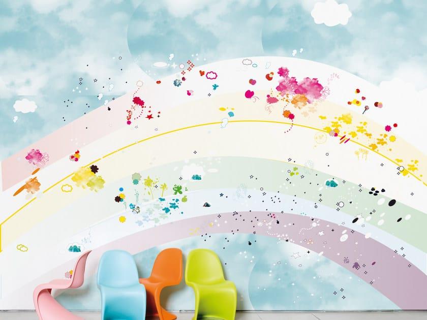 Motif wallpaper for children's bedrooms