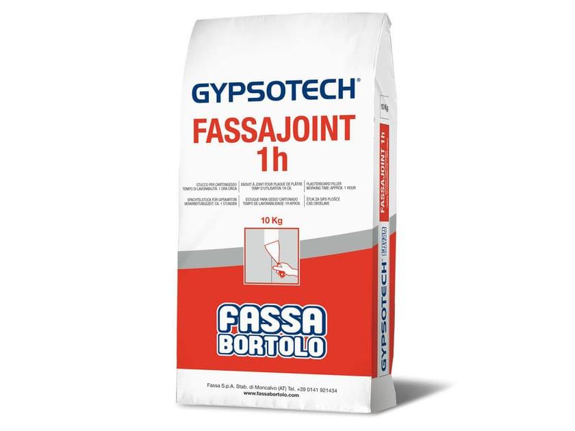 Gypsum and decorative plaster FASSAJOINT 1H by FASSA