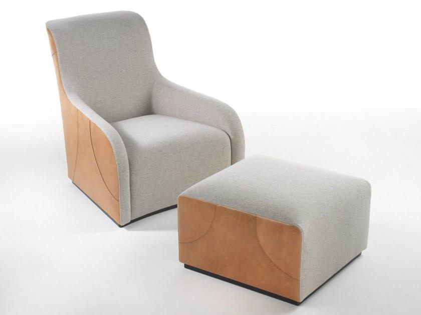 High-back armchair RIBOT   High-back armchair by Marelli