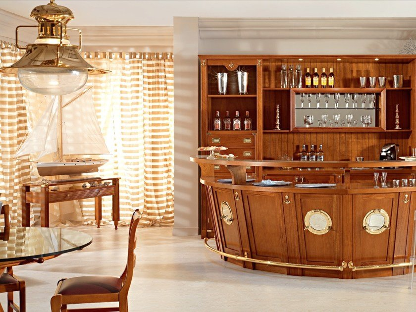 mobile bar in legno massello bolina mobile bar in legno. Black Bedroom Furniture Sets. Home Design Ideas