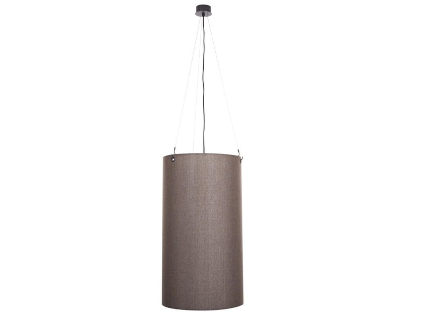 Fabric pendant lamp CYLINDER - NORR11