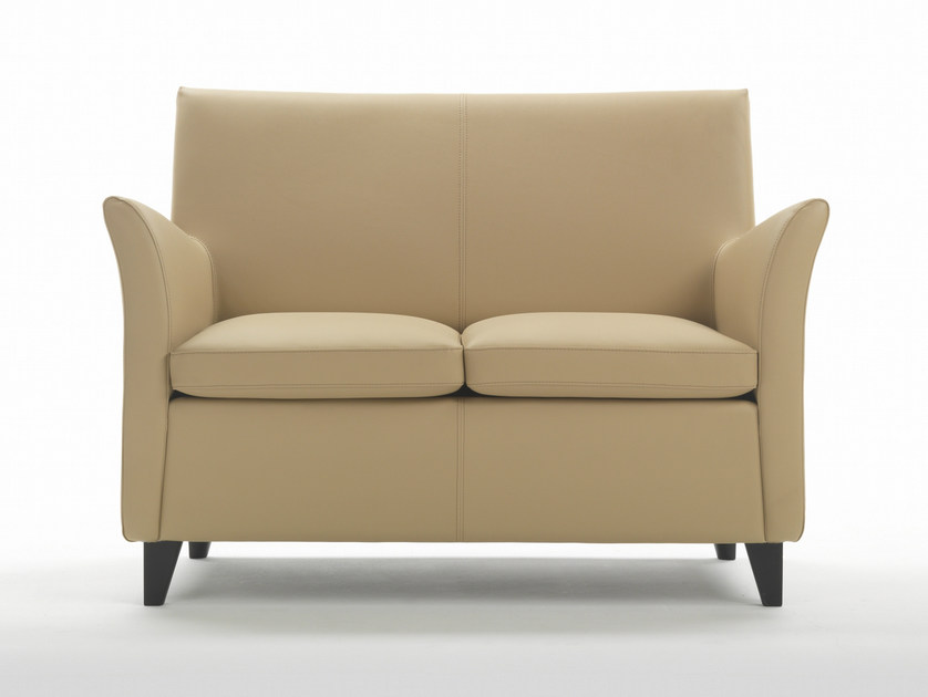 Upholstered 2 seater sofa