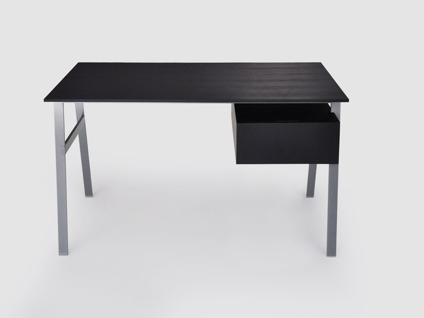Writing desk with drawers HOMEWORK 1 WOOD TOP by BENSEN