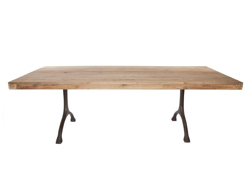 Teak dining table RECYCLE - NORR11
