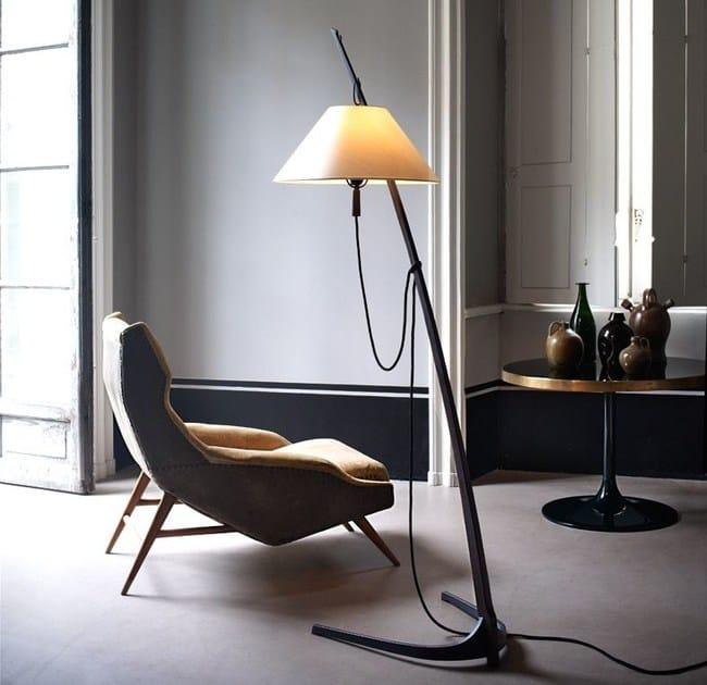 Height-adjustable floor lamp DORNSTAB - J.T. Kalmar
