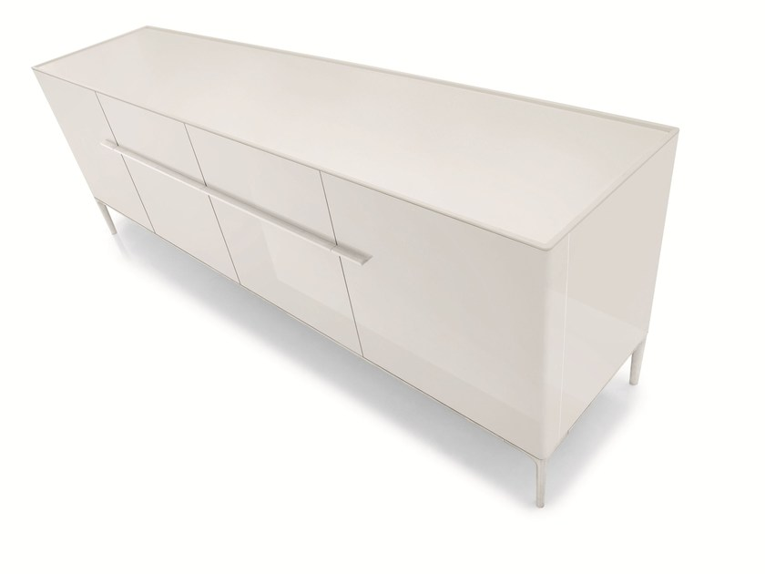 Design lacquered sideboard with doors SIDE | Sideboard - ALIVAR