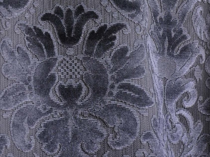 Viscose fabric with floral pattern CHAILLOT - LELIEVRE