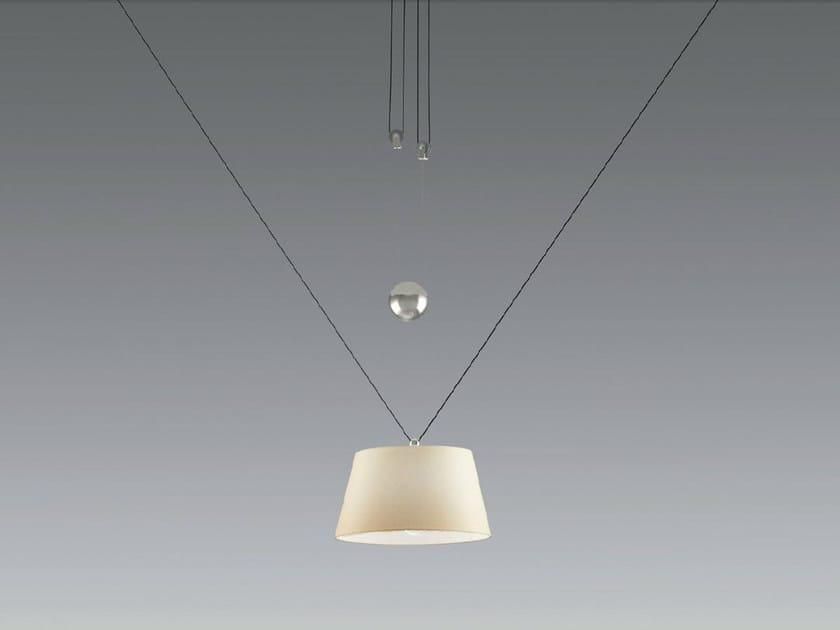Adjustable adjustable pendant lamp