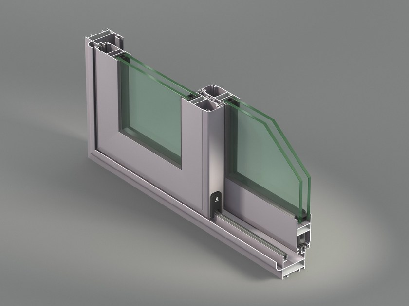 Aluminium thermal break window nc s 65 i by metra for Thermal windows