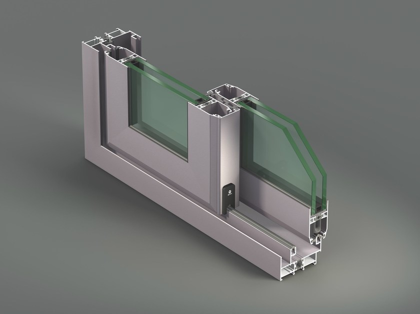 Aluminium thermal break window NC-S 65 STH - METRA