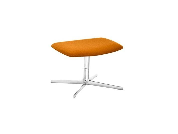 Footstool with 4-spoke base ASTON | Footstool by arper