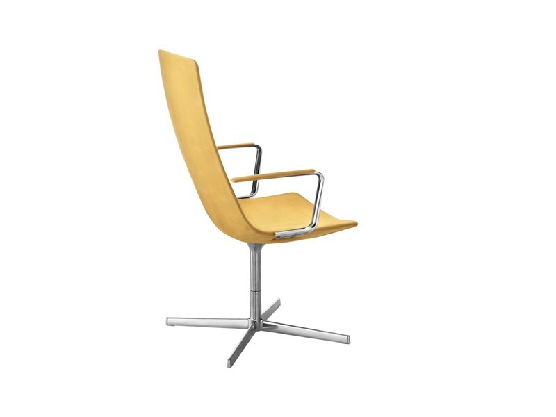 Swivel task chair with 4-Spoke base CATIFA 60 | Task chair with armrests - Arper