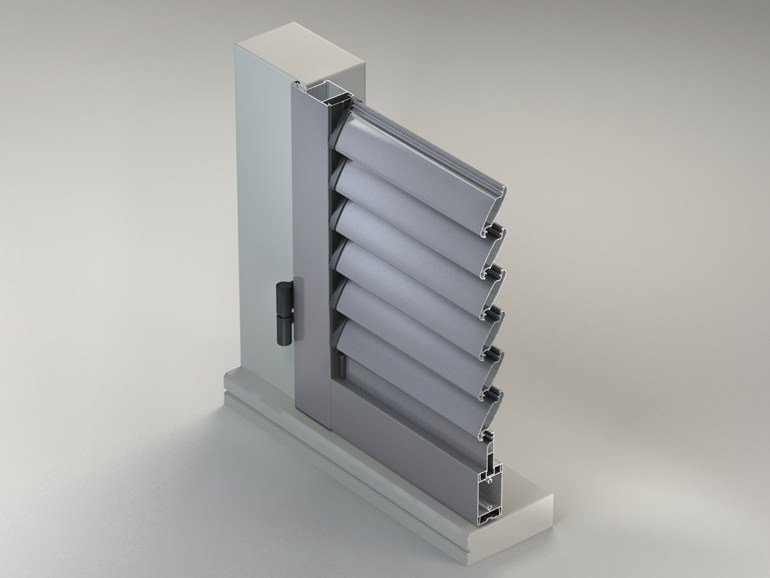 Shading Systems METRA Shutter Line with ADJUSTABLE BLADE - METRA