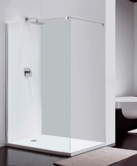 Glass shower wall panel COMBI CW5 - Provex Industrie