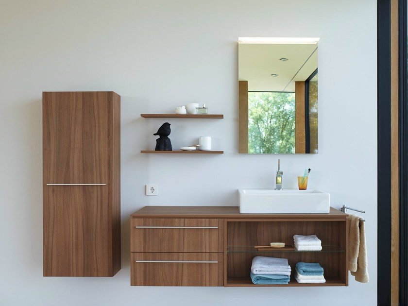 Wooden bathroom furniture set X - LARGE | Bathroom furniture set by Duravit