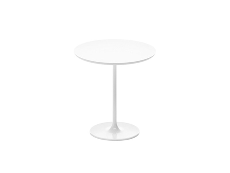Oval coffee table DIZZIE H 50 | Low coffee table by arper
