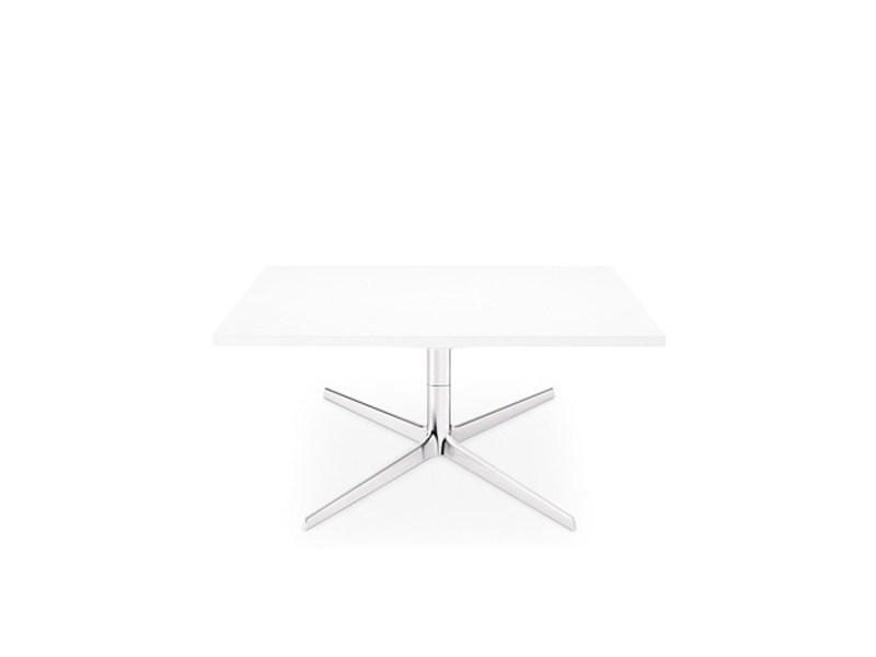 Low square coffee table FRED H 36.4 | Square coffee table by arper