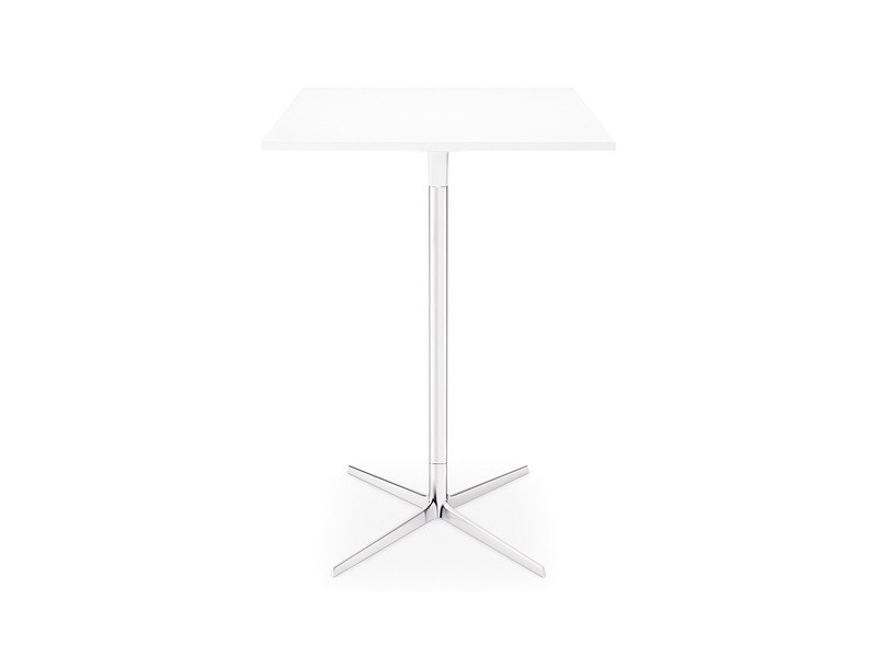 Square high table FRED H 105 | Square table by arper