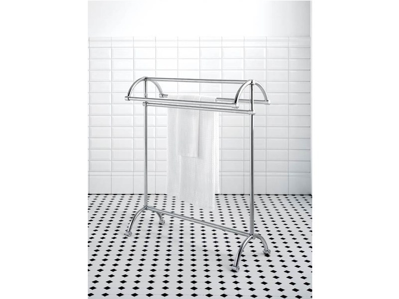 Standing towel rack CARDIFF | freestanding towel rail by GENTRY HOME